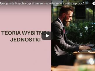 Psychologia biznesu szkolenia